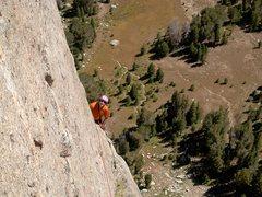 Rock Climbing Photo: Eric Hobday enjoying a sunny day on Midsummer Dome...