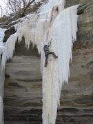 Rock Climbing Photo: The right pillar of Ottawa Canyon.