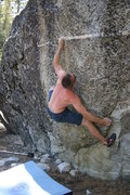 Rock Climbing Photo: Fire and Brimstone V5