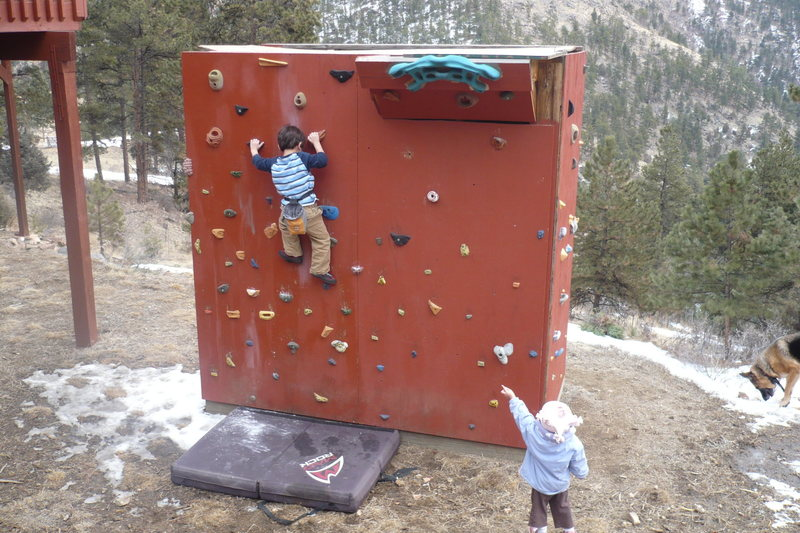 Rock Climbing Photo: Fun session before the snow.