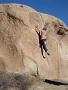Rock Climbing Photo: Moving up Meat Substitute