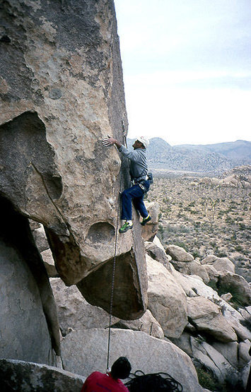 A great climb, but not for the faint of heart...