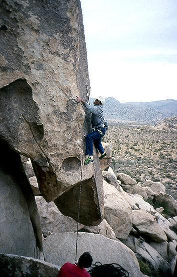 Rock Climbing Photo: A great climb, but not for the faint of heart...