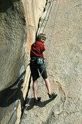 Rock Climbing Photo: One happy Shayne (aka Travis Pastrami) lowering of...