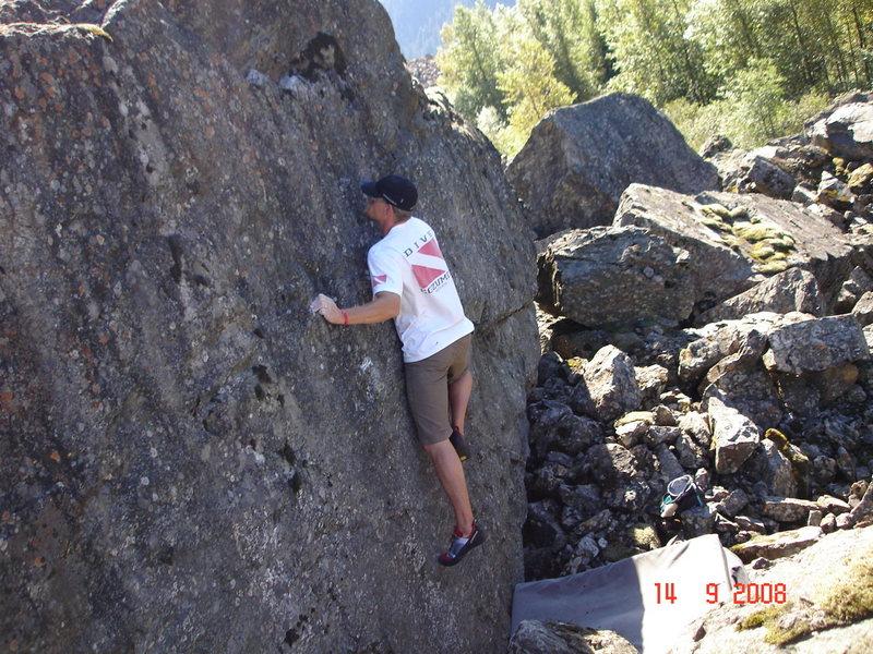 Rock Climbing Photo: Hope Slide, B.C.