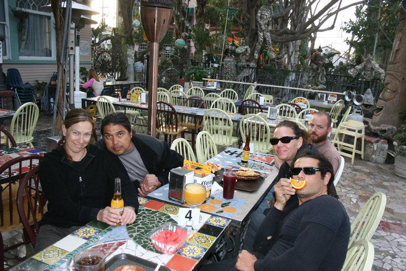 Clockwise Noelle, Albert, Nathan, Agina and RastaRaj. 2-28-10