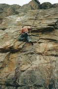 Rock Climbing Photo: JVonD rocking a self-belay knot system. Super clas...