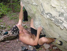 Rock Climbing Photo: JVonD rocking the ToTo Boulder!