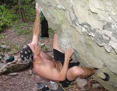 Rock Climbing Photo: JVonD rocking the ToTo Boulder!