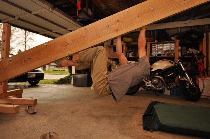 The Crackolator.  Rob is the headless climber