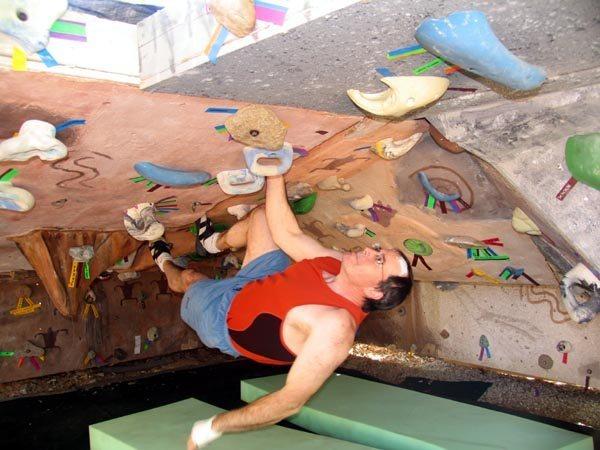 Rock Climbing Photo: still more roof crack