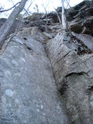 Rock Climbing Photo: you can see the high bolt on the right wall