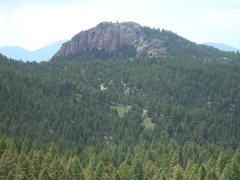 Unknown rock near Cabin Ridge.