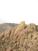 Rock Climbing Photo: This is Dreamscape Buttress as seen from Squaretop...