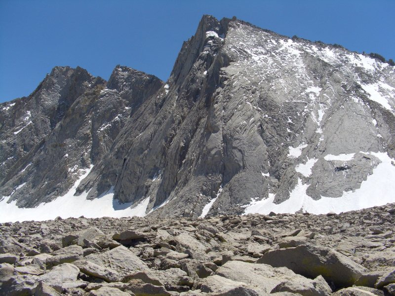 Rock Climbing Photo: Mt Tyndall.