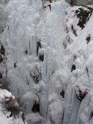 Rock Climbing Photo: L to R: Pick O'The Vic (TR), Berzerker (lead), Tan...