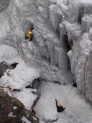 Rock Climbing Photo: Early season start to Whitt's World, Dec. 29, 2004...