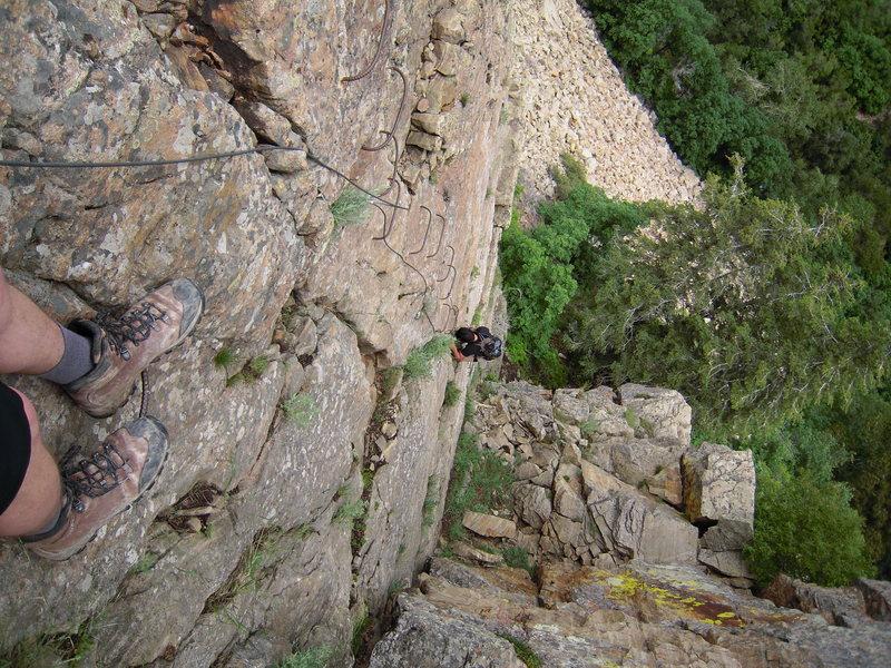 Rock Climbing Photo: Via Ferrata Ogden