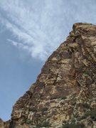 Rock Climbing Photo: Prime Rib climbs the left hand skyline.