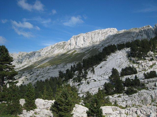 West side of Gerbier