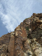 Rock Climbing Photo: Overview of the route