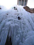 Rock Climbing Photo: Long way to the bridge, 03/04/2005.