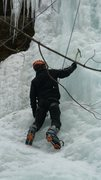 Rock Climbing Photo: 1st time ice climbing at G Dodge!
