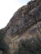 Rock Climbing Photo: Approximate line.