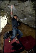 Rock Climbing Photo: GB.