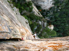Rock Climbing Photo: Into the Wild, West Fork Wall