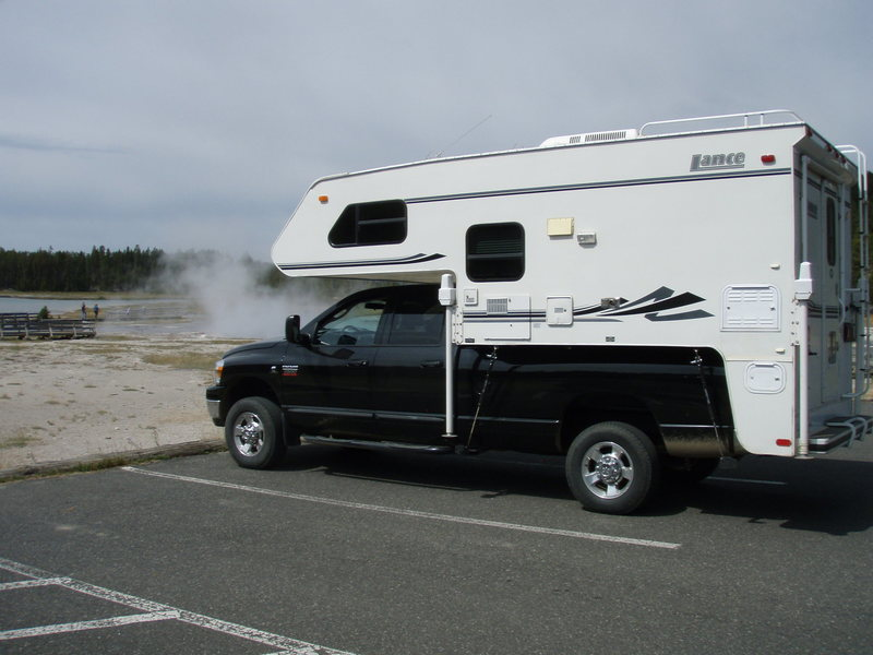 Dodge 2500 with Lance Camper