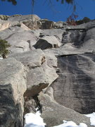 Rock Climbing Photo: The Ribeye Flake itself is in the upper portion of...