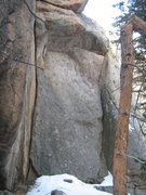 "Rock Climbing Photo: The ""pinkish"" alcove (maybe not so pink...."