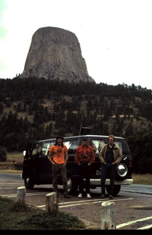 Rock Climbing Photo: Cross country road tripping circa 1982.  That is m...