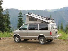Rock Climbing Photo: Now that's a BC camping rig.