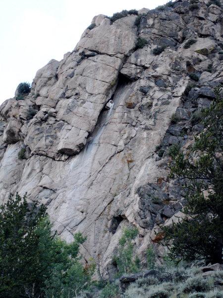 Rock Climbing Photo: Sierra-esque granite....