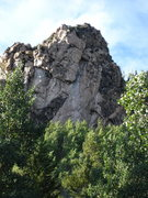 Rock Climbing Photo: View from the car....