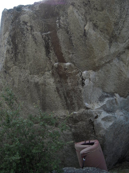 "Rock Climbing Photo: called ""Halo"" a V5~ish problem at Roads ..."