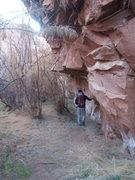 Rock Climbing Photo: Interesting approach