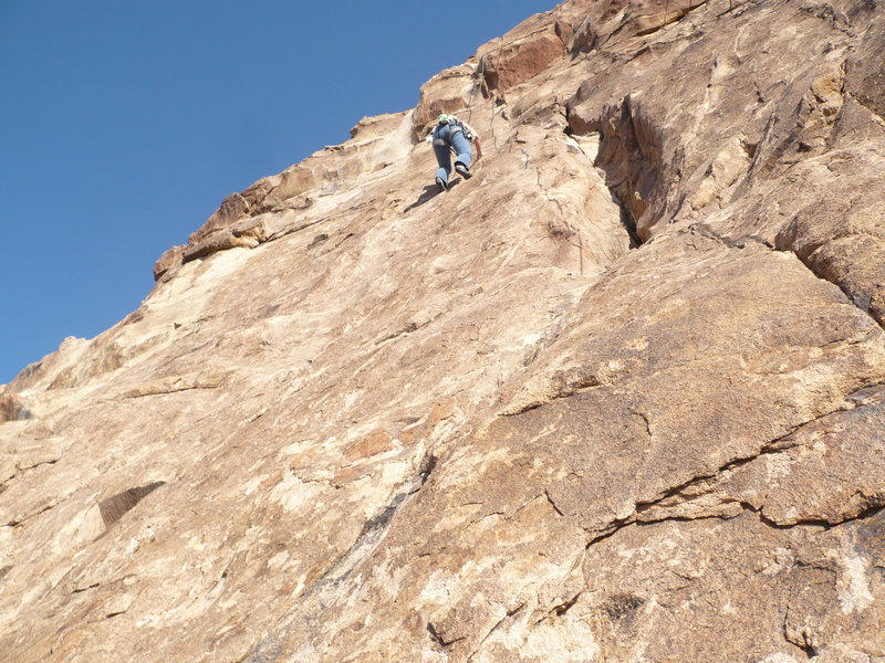 """Mary Ellen on """"I Did It My Way"""" after crossing the wide crack"""