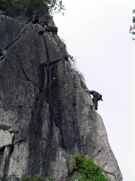 Rock Climbing Photo: Kampot climbing