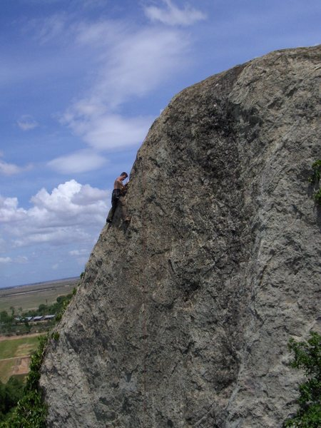 Rock Climbing Photo: Kampong Cham climbing