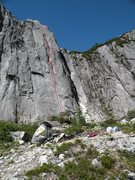 Rock Climbing Photo: look at this line... the Prophecy amazing!