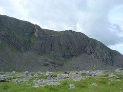 Rock Climbing Photo: Cloggy.
