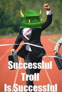 Rock Climbing Photo: successful troll is successful