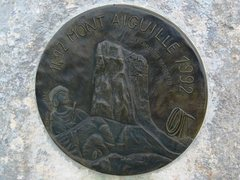 Rock Climbing Photo: Mont Aiguille 500 year anniversary summit plaque