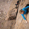 Owens River Gorge. Mary Devore on Timeless (5.10c) Lower Gorge