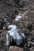 Rock Climbing Photo: Waterton canyon Ice