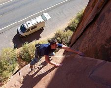 Rock Climbing Photo: Just warming up...
