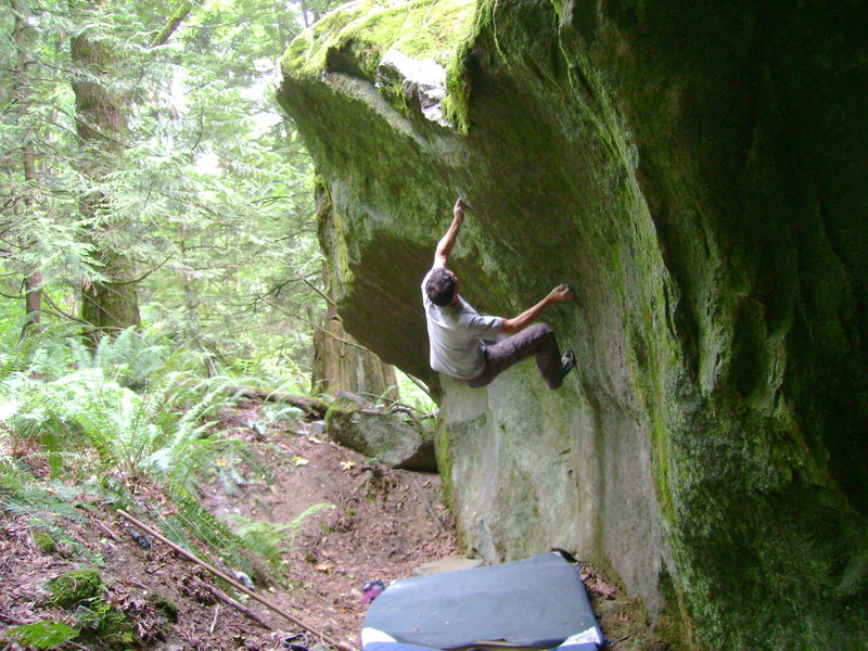 Rock Climbing Photo: Mr. Majestic V6